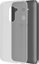 Azuri Glossy TPU Alcatel A3 Back Cover Transparant