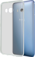 Azuri Glossy TPU HTC U11 Back Cover Transparant