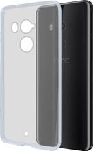 Azuri Glossy TPU HTC U11 Plus Back Cover Transparant