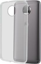 Azuri Glossy TPU Moto G5S Plus Back Cover Transparant