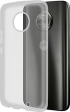 Azuri Glossy TPU Moto X4 Back Cover Transparant