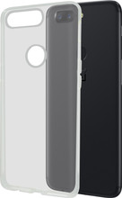 Azuri Glossy TPU OnePlus 5T Back Cover Transparant
