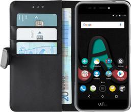 Azuri Wallet Magneet Wiko U Pulse Lite Book Case Zwart