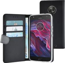 Azuri Wallet Magneet Moto X4 Book Case Zwart