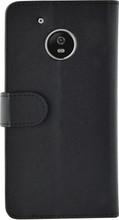 Azuri Wallet Magneet Moto G5 Book Case Zwart