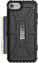 UAG Trooper Card iPhone 6+/6s+/7+/8+ Back Cover Zwart