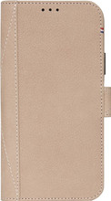 Decoded 2-in-1 Leather Wallet iPhone X Book Case Beige