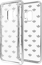 Adidas Originals Clear Galaxy S9 Back Cover Zilver
