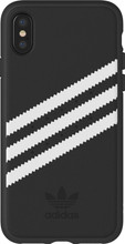 adidas Originals Moulded Suede iPhone X Back Cover Zwart