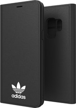 Adidas Originals New Basics Galaxy S9 Book Case Zwart