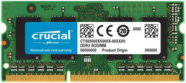 Crucial Apple 8 GB DDR3L-1866 SODIMM 1 x 8 GB