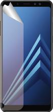 Azuri Galaxy A8 (2018) Screenprotector Plastic Duo Pack