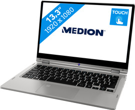 Medion Akoya E3213TS 64GB Silver Azerty