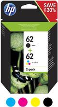 HP 62 Cartridge 4-Kleuren (N9J71AE)