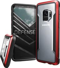 X-Doria Defense Shield Galaxy S9 Back Cover Rood