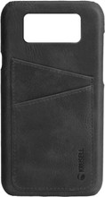 Krusell Sunne Card Galaxy S9 Back Cover Zwart