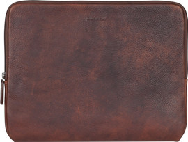 Burkely Antique Avery Laptopsleeve Bruin