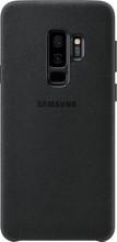 Samsung Galaxy S9 Plus Alcantara Back Cover Zwart