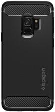 Spigen Rugged Armor Samsung Galaxy S9 Back Cover Zwart