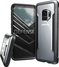 X-Doria Defense Shield Galaxy S9 Back Cover Zwart