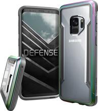 X-Doria Defense Shield Galaxy S9 Back Cover Iridescent