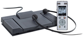 Olympus DM-720 record and transcribe kit