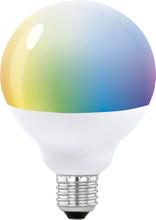 Eglo Connect Wit en Gekleurd 13W E27