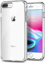 Spigen Ultra Hybrid iPhone 7/8 Plus Back Cover Transparant
