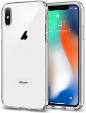 Spigen Liquid Crystal iPhone X Back Cover Transparant