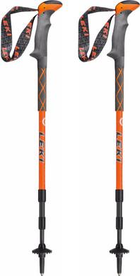 Leki Carbonlite Orange/White 135 cm
