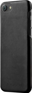 Mujjo Leather Case Apple iPhone 7/8 Zwart