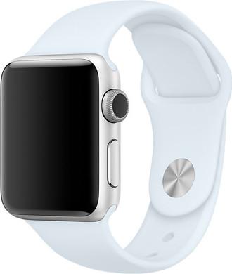 Apple Watch 38mm Siliconen Sport Polsband Hemelsblauw