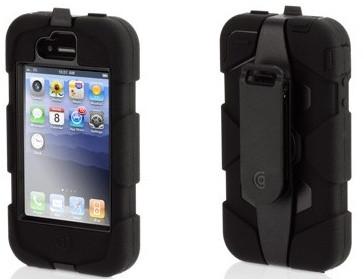 Griffin Survivor Case Apple iPhone 4 / 4S Zwart