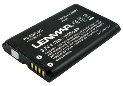 Lenmar Battery BlackBerry Curve 1100 mAh + Thuislader