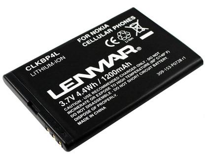 Lenmar Battery Nokia BP-4L 1200 mAh + Thuislader