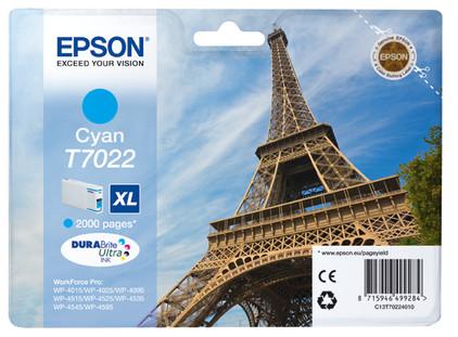 Epson T7022 Cartridge Cyaan XL (C13T70224010)