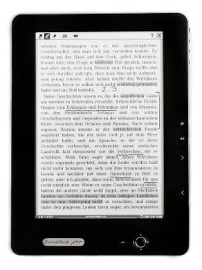 Pocketbook 912 e-Reader Dark Grey + Thuislader