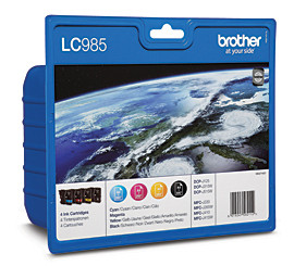 Brother LC-985VALBP 4-Kleuren Pack