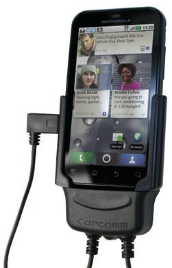 Carcomm Active Holder Motorola Defy + Thuislader