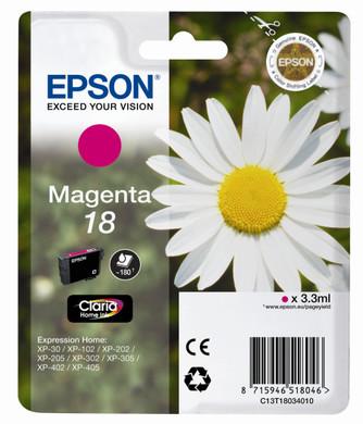 Epson 18 L Inktcartridge Magenta C13T18034010