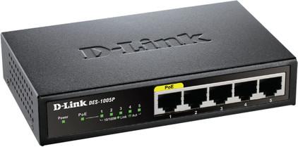 D-Link DES-1005P PoE Switch