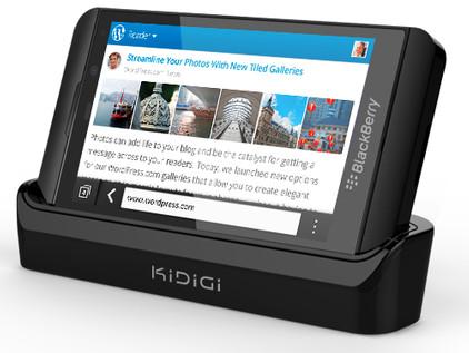 KiDiGi Dockingstation HDMI Blackberry Z10 + HDMI +Thuislader
