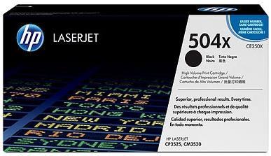 HP 504A LaserJet Toner Zwart (CE250A)