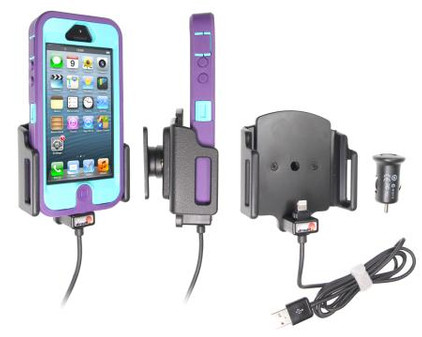 Brodit Active Holder iPhone 5/5S/SE Skin verstelbaar 62-77/9-13