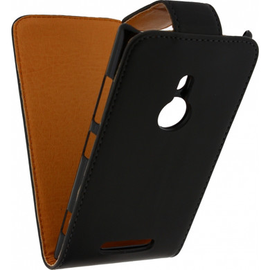 Xccess Leather Flip Case Nokia lumia 925 Zwart