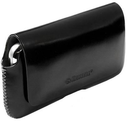Krusell Leather Case Hector 4 XL Zwart
