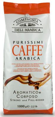 Caffe Corsini Purisimi Arabica grains de café 1 kg
