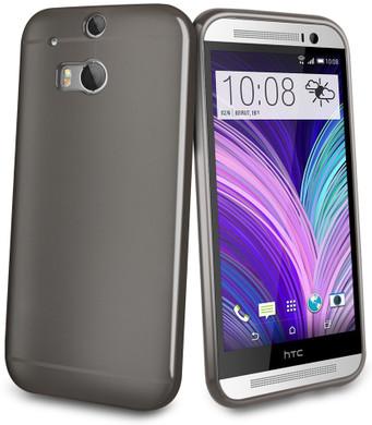 Muvit Minigel Case HTC One M8 Zwart