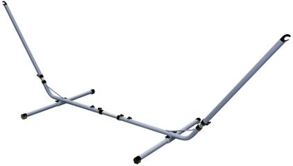 Bo Garden Verstelbare Hangmatstandaard Zilver