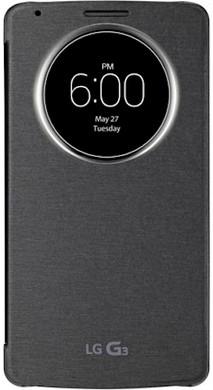 LG G3 QuickCircle Cover Zwart
